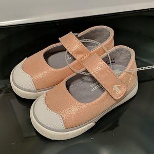 NWOT See Kai Run Emily Rose Gold shoes 5